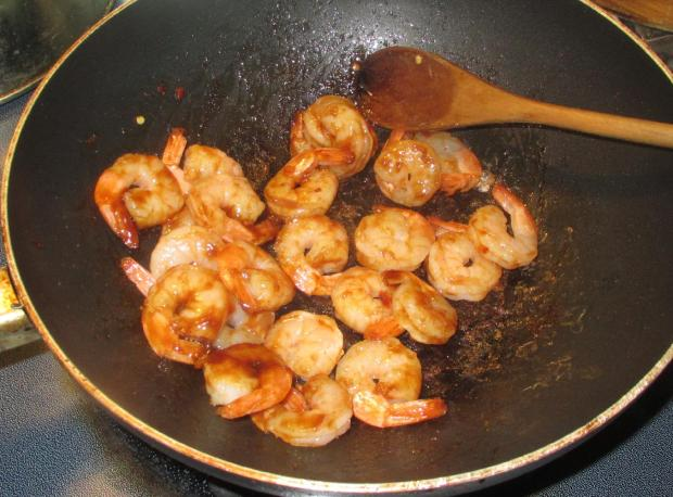Hoisin sesame Shrimp 4