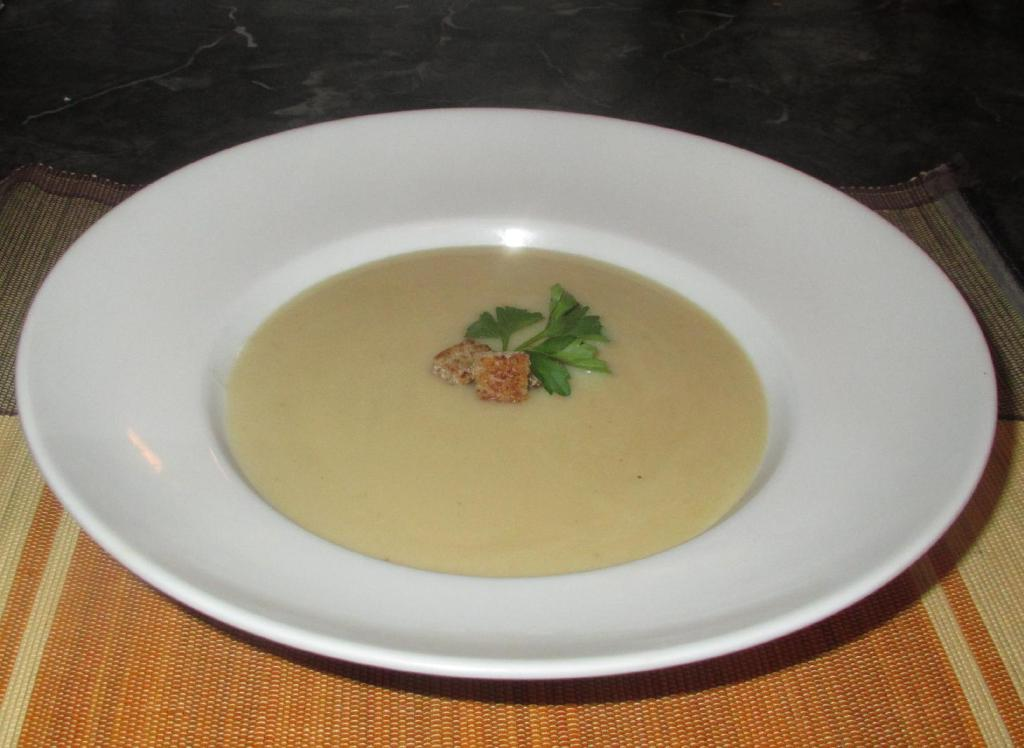 Leek and Potato Soup 1