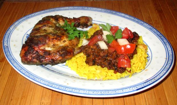 Methi Masala Chicken 8