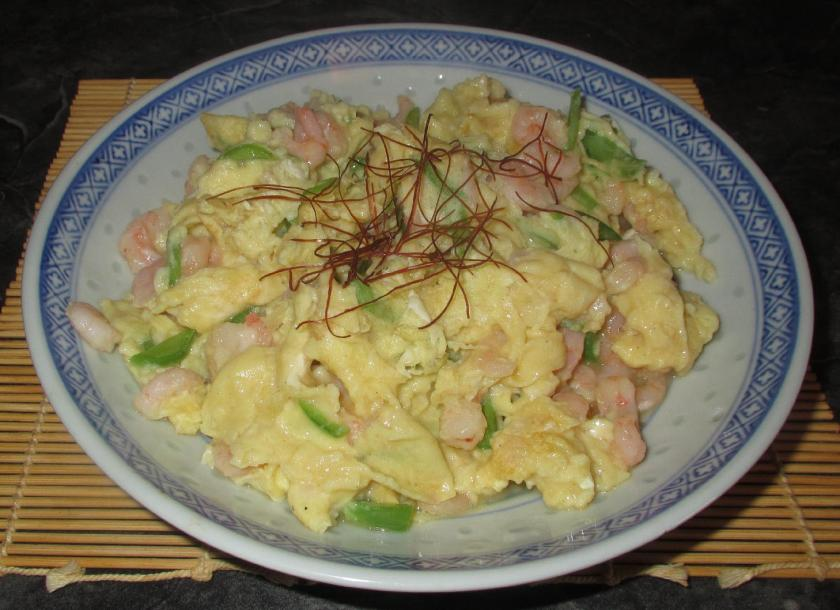 Shrimp and Eggs 1
