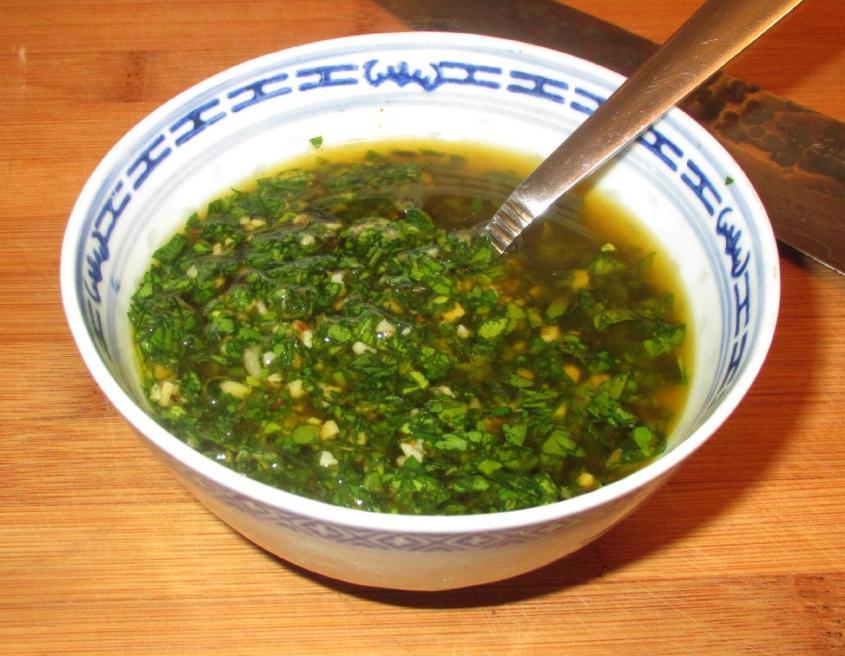 Chimichurri Sauce 1