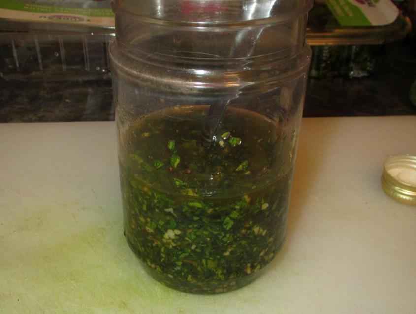 Chimichurri Sauce 4