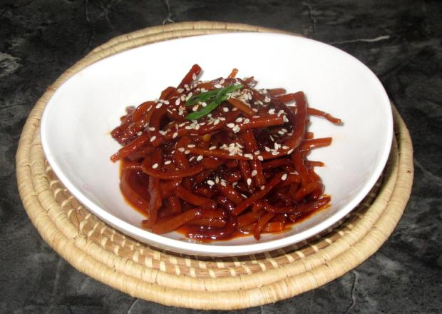 Banchan- Spicy Dried Squid 1