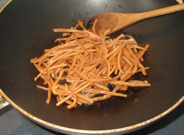 Banchan- Spicy Dried Squid 4