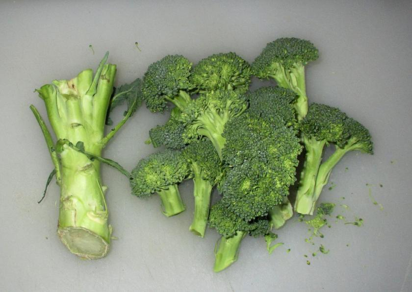 Broccoli Stems 1