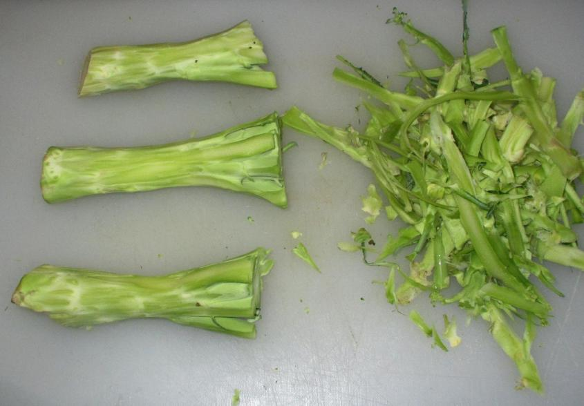 Broccoli Stems 2
