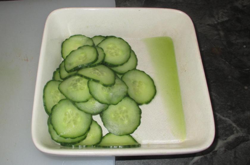 Japanese Cucumber Salad 2