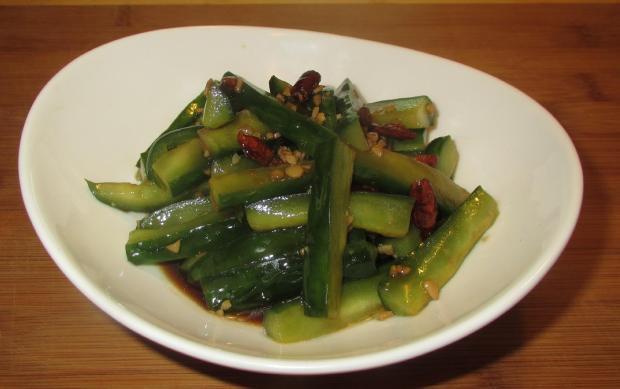 Sichuan Dressed Cucumber 1