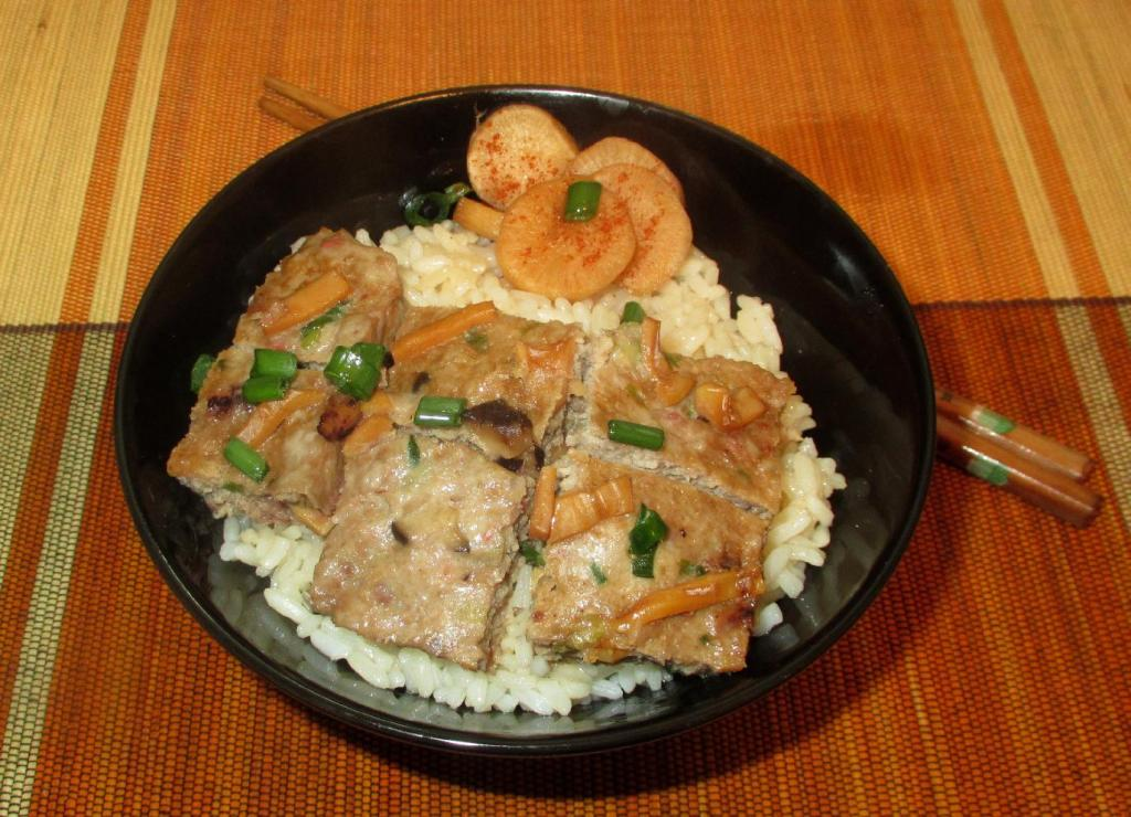 Steamed Pork with Dried Squid 1