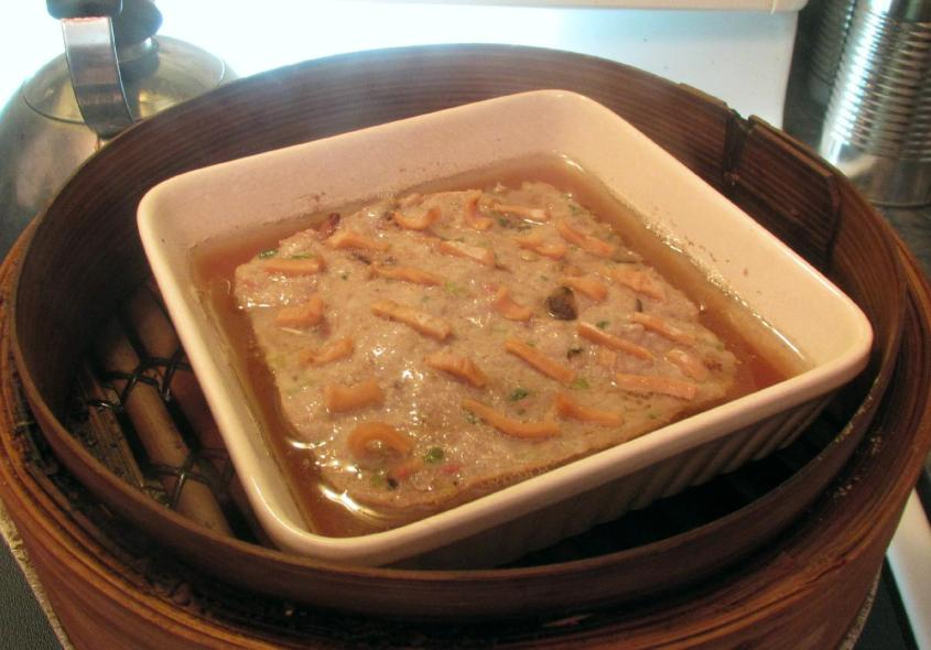 Steamed Pork with Dried Squid 5