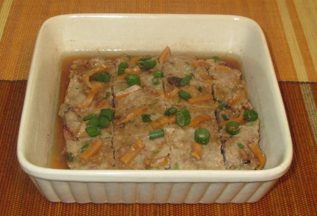 Steamed Pork with Dried Squid 6