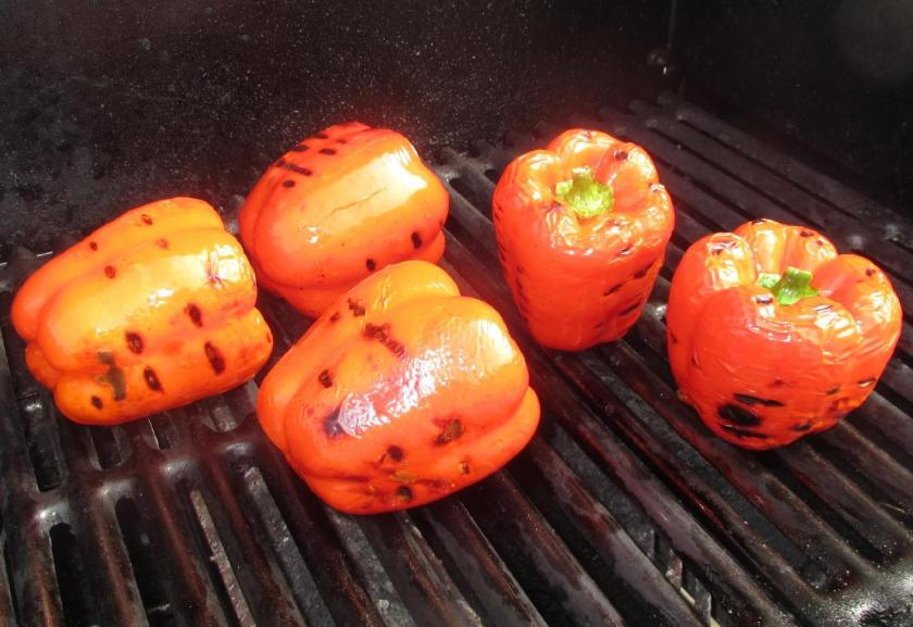 Roasting Red Peppers 01