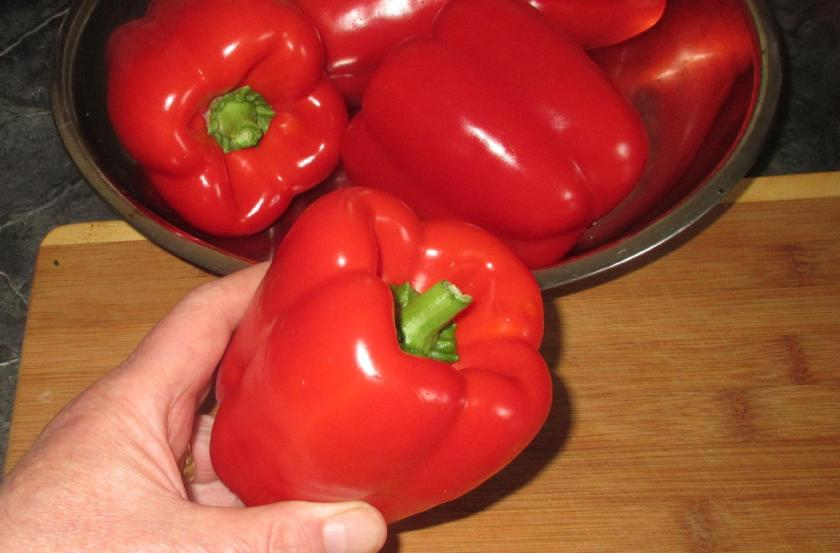 Roasting Red Peppers 02