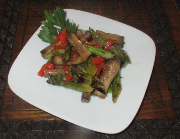 Grilled Veggie Salad 01