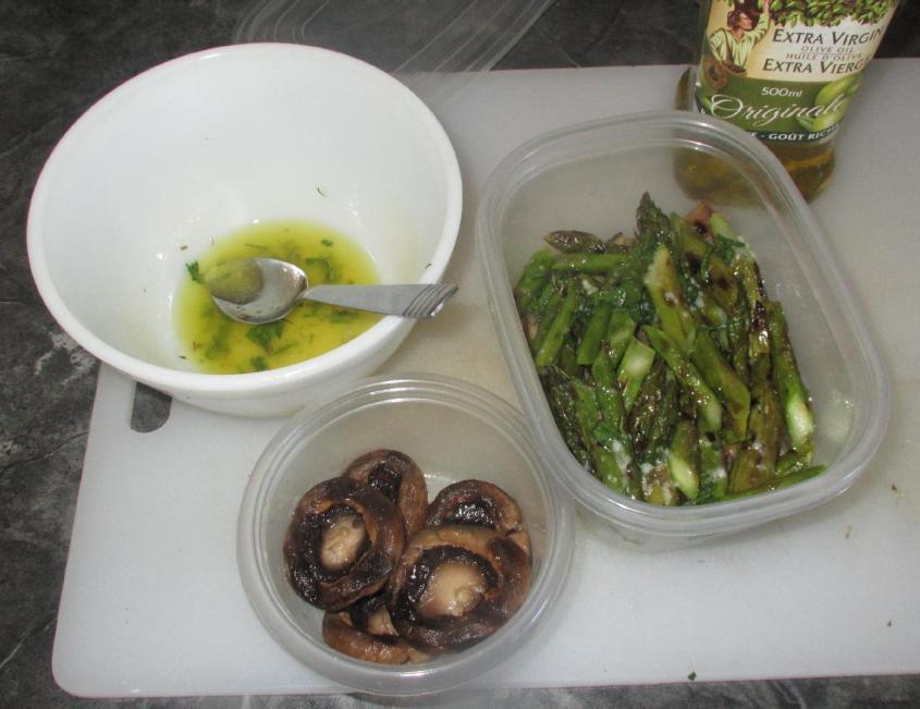 Grilled Veggie Salad 05