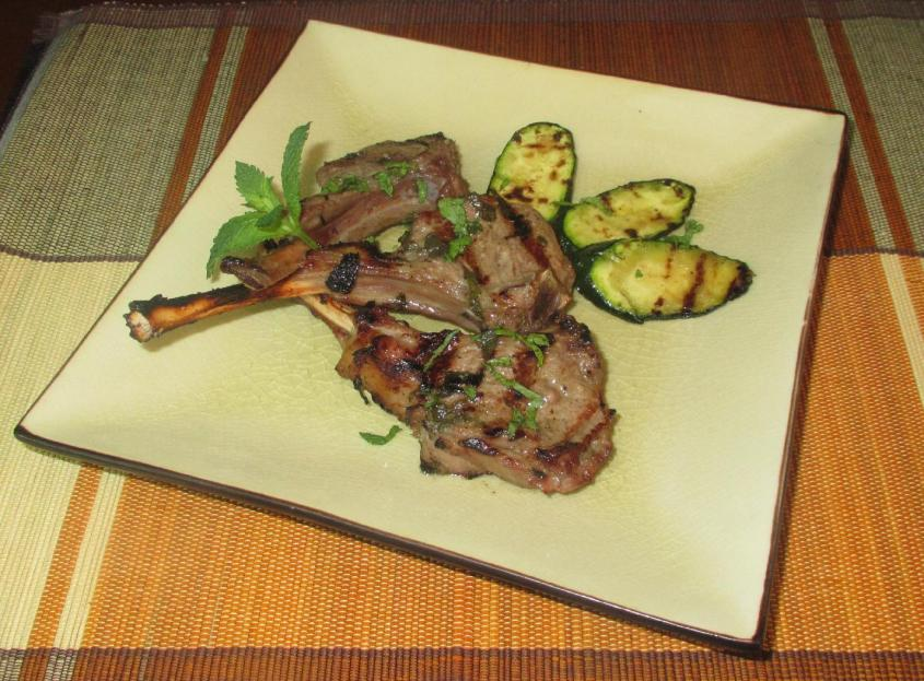 Mint Grilled Lamb 01