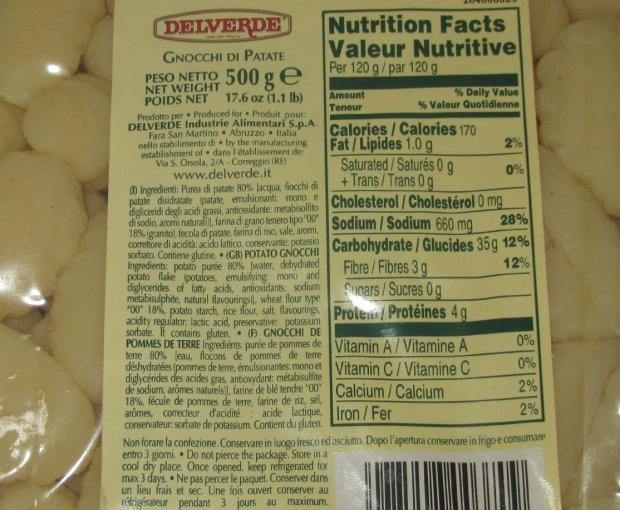 Gnocchi Delverde Brand 2