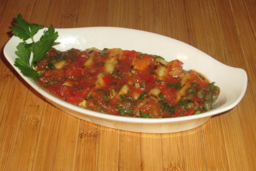 Grilled Zucchini Meze 01