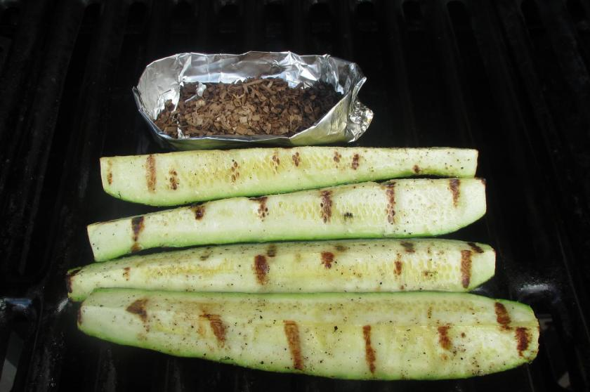 Grilled Zucchini Meze 04