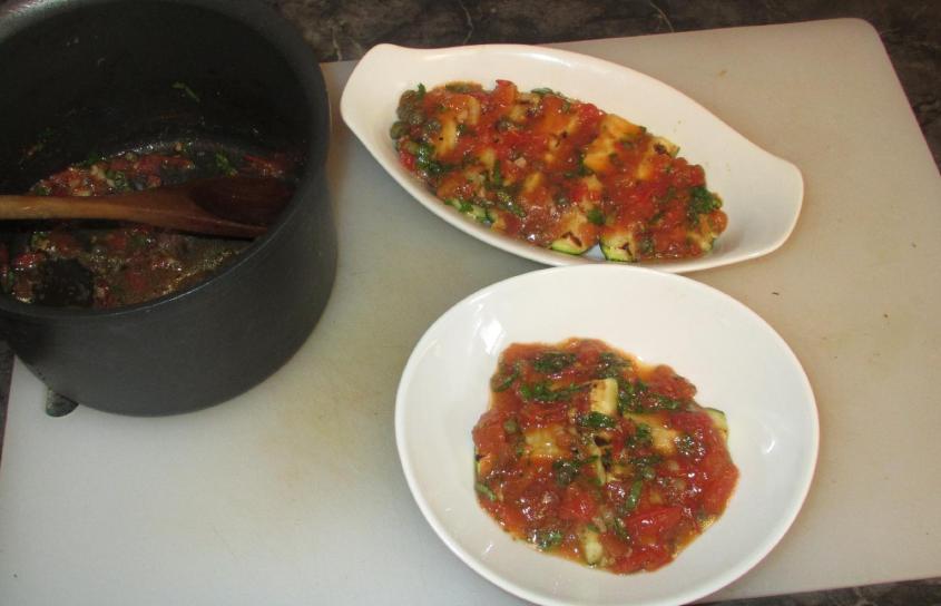 Grilled Zucchini Meze 07