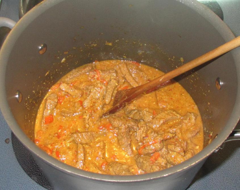 Chili Coriander Beef 6