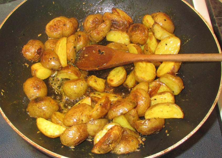 Potatoes with Fenugreek 04
