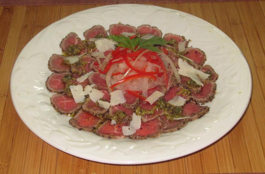 Seared Carpaccio 1