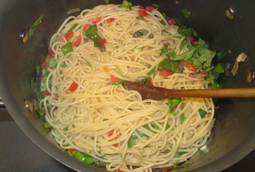 Summer Sauce Pasta 04