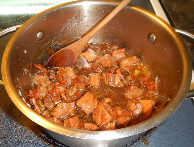 Red Cooked Pork and Octopus 7