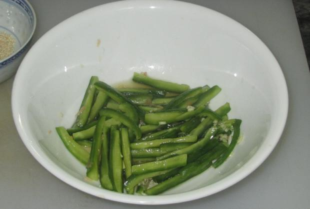 Sesame Cucumber Salad 05