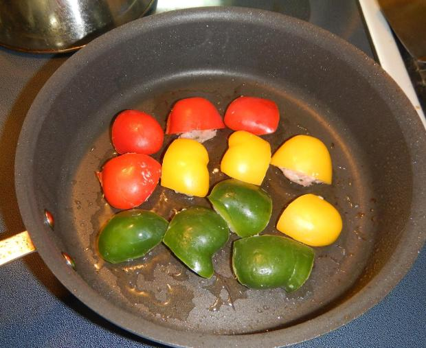Stuffed Peppers with Black Bean Sauce 5