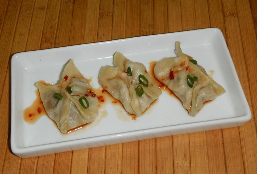Beef and Sea Cucumber Dumplings 1
