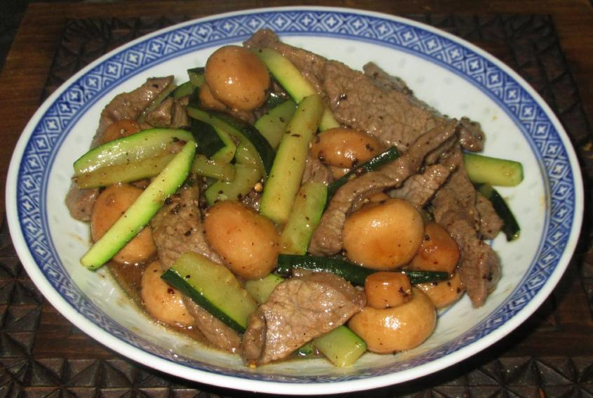 Black Pepper Beef 1