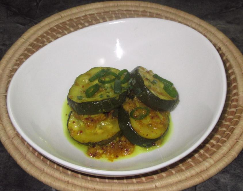 Grilled Zucchini Pickle 1