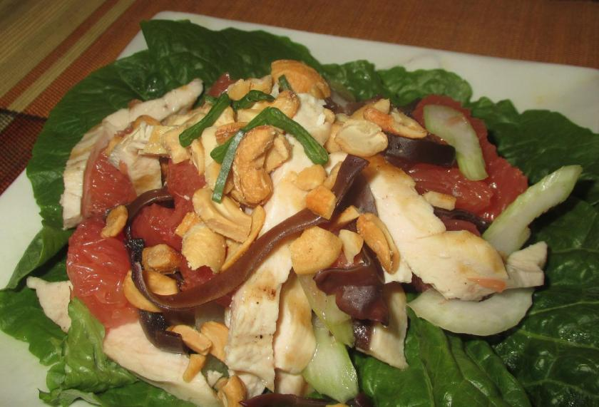 Chicken and Grapefruit Salad 1