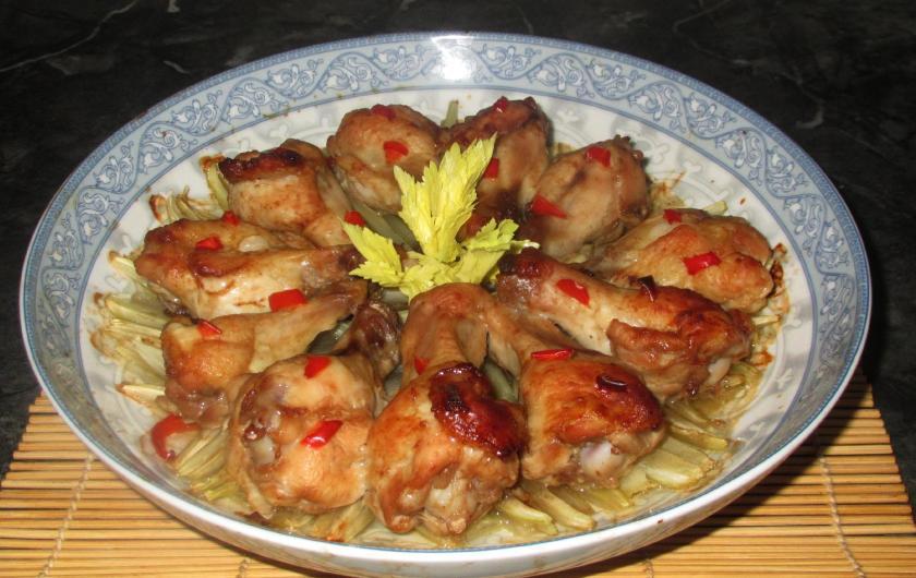 Baked Celery Chicken 1