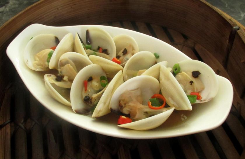 Black Bean Steamed Clams 1