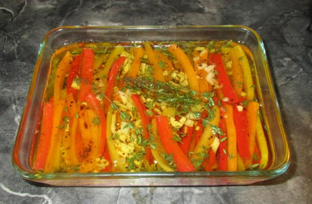 Marinated Peppers 6