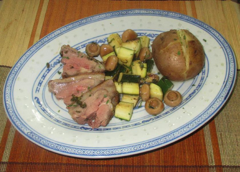 Mint Marinated Lamb Roast 5