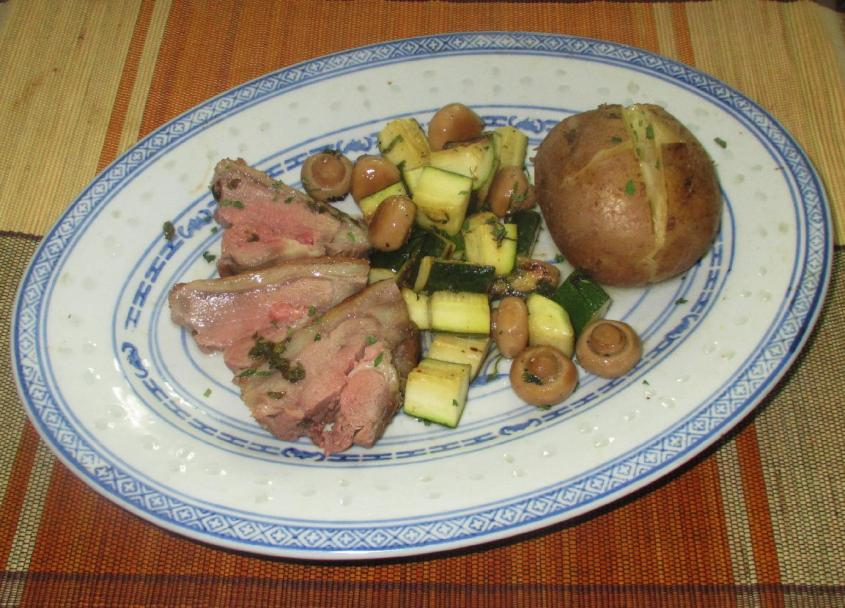 Mint Marinated Lamb Roast 5