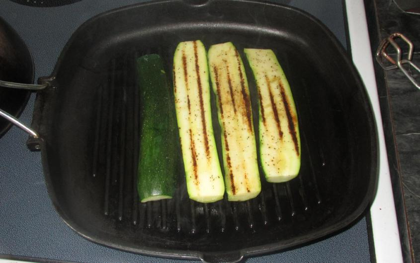 Minted Zucchini and Mushrooms 2
