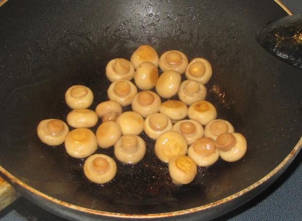 Minted Zucchini and Mushrooms 4
