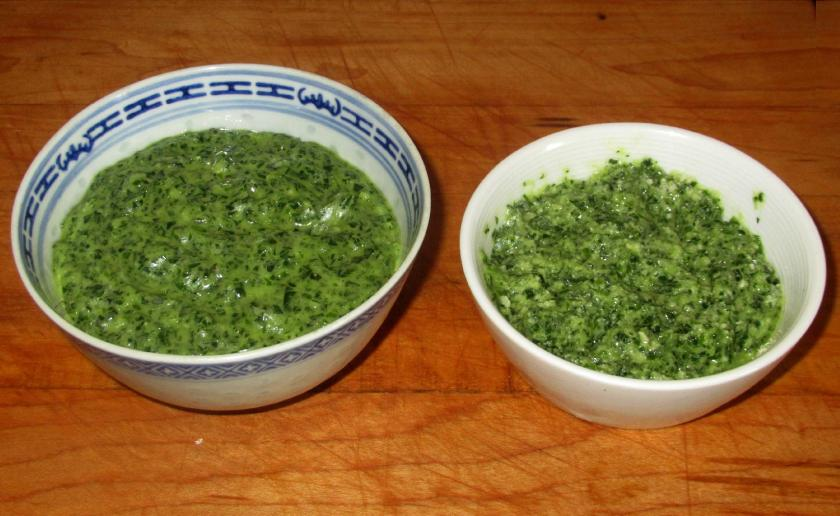 Scallion Garlic Pesto 1