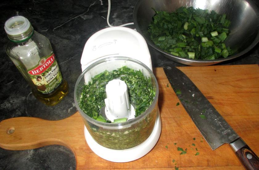 Scallion Garlic Pesto 2