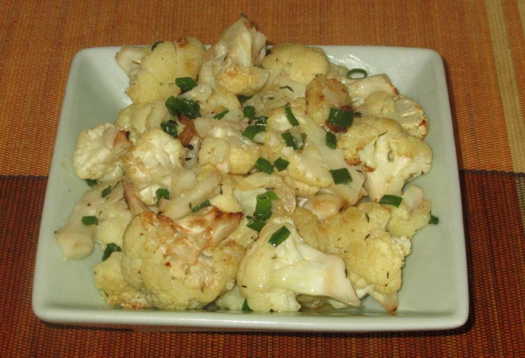 Simple Roast Cauliflower 1