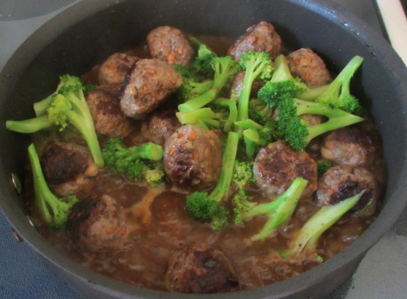 Beefballs and Broccoli 6