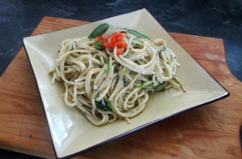 Pasta with Herbs 1