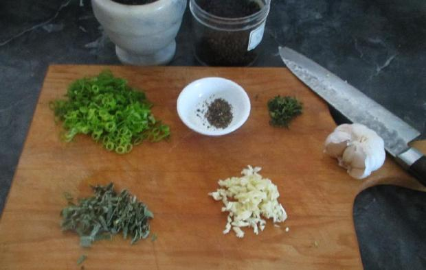 Pasta with Herbs 2