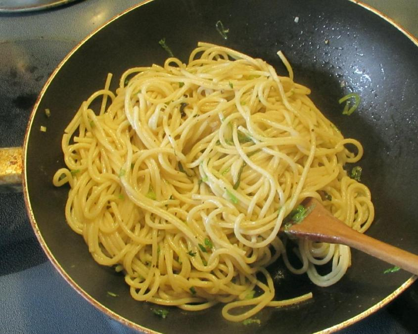 Pasta with Herbs 4