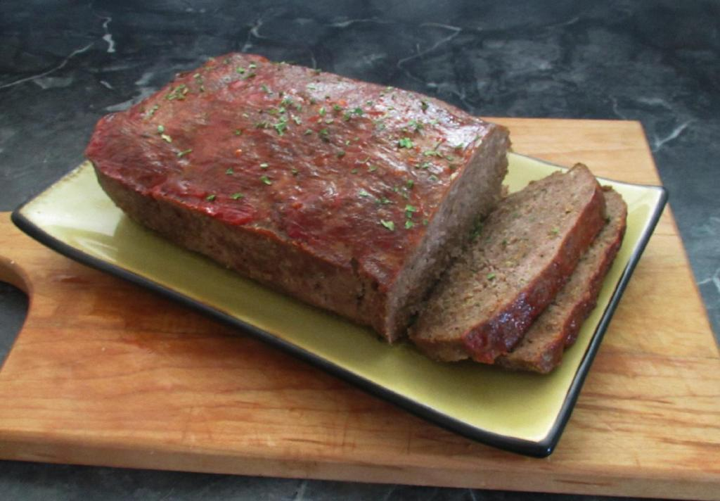 Simple Meatloaf 1
